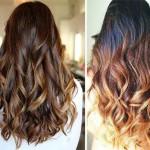 Окрашивание омбре на темные и светлые волосы