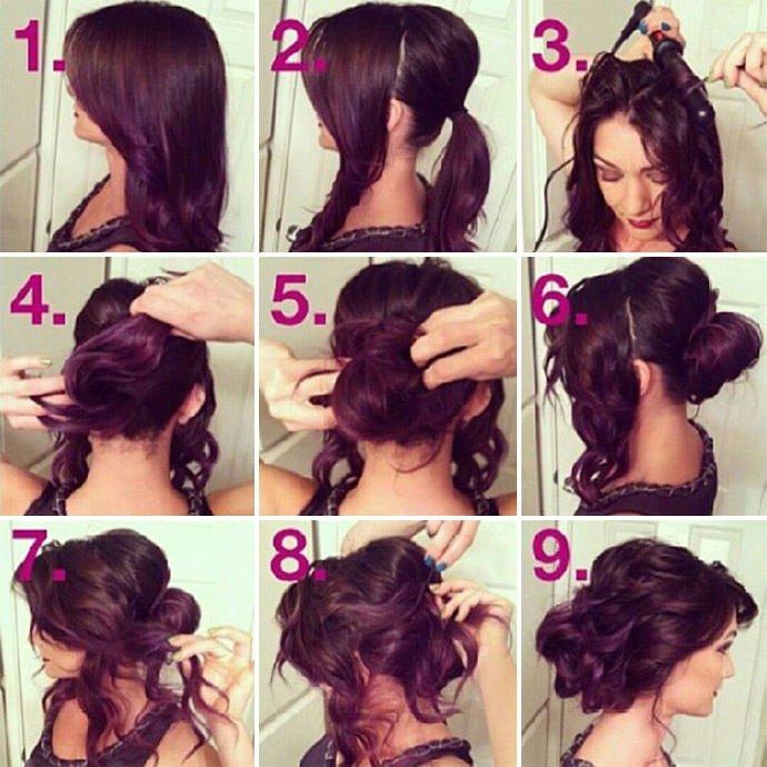 pricheski-s-kudryami-na-sredniye-volosy-2 Локоны на длинные волосы - фото и урок научивший меня делать локоны