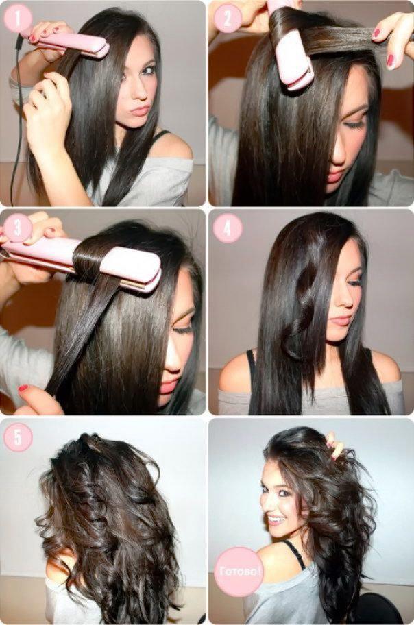 Праздничная укладка на длинные волосы