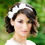 10 лучших свадебных причесок на короткие волосы