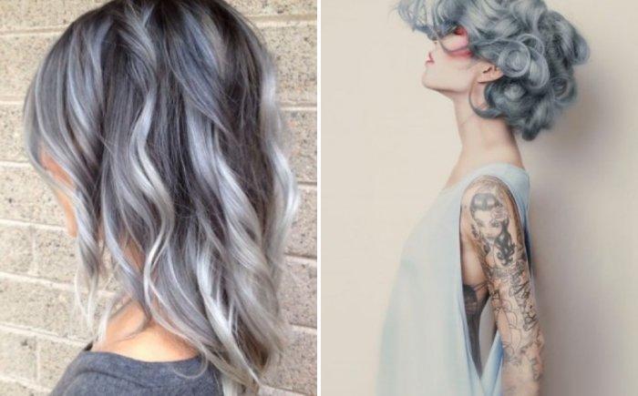 seryj-cvet1 Серый цвет волос – фото и секреты окрашивания
