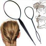 Петля для волос — делаем укладку за 5 минут