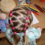 Прически для девочки в детский сад: 15 простых вариантов