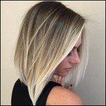 Разновидности балаяжа на русые волосы разной длины