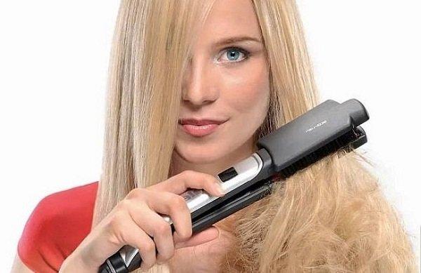Масло для выпрямления волос