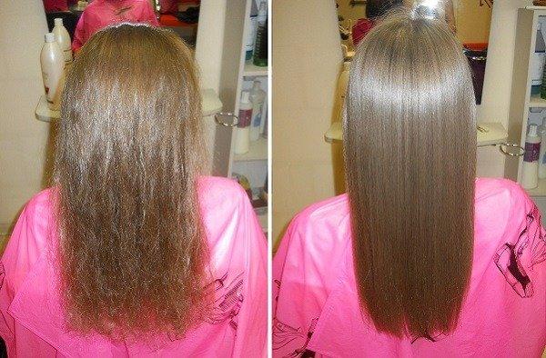 Смывается ли состав кератинового восстановления волос