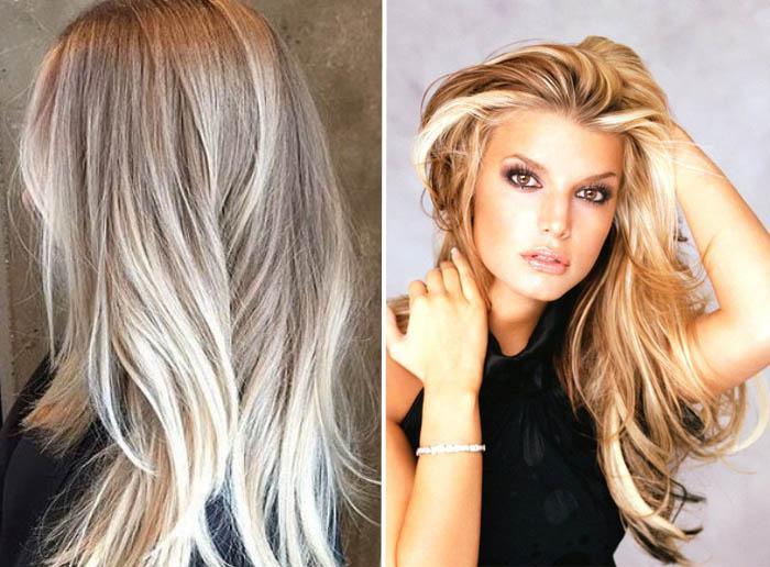 vidy-melirovaniya-na-svetlye-volosy-3 Мелирование на рыжие волосы: фото до и после, окрашивание на медный цвет, с челкой и без, на короткие, длинные, крашеные