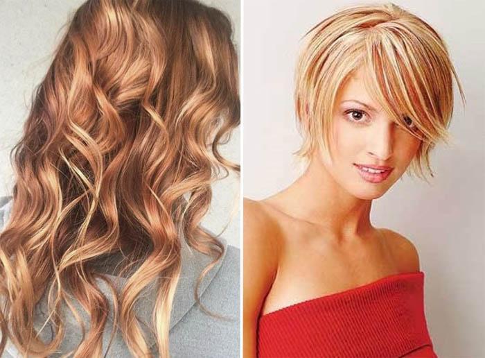 vidy-melirovaniya-na-svetlye-volosy-4 Мелирование на рыжие волосы: фото до и после, окрашивание на медный цвет, с челкой и без, на короткие, длинные, крашеные