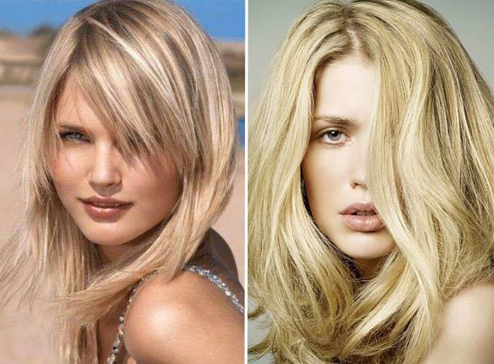 vidy-melirovaniya-na-svetlye-volosy-7 Мелирование на рыжие волосы: фото до и после, окрашивание на медный цвет, с челкой и без, на короткие, длинные, крашеные