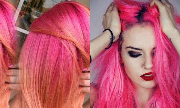 Розовая краска для волос: как и чем лучше всего покраситься